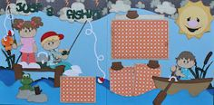 Cardstock is my middle name!: Just A Fishin'