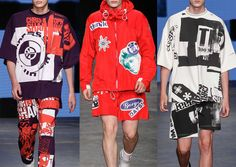 London Menswear Print Highlights – Spring/Summer 2015 catwalks
