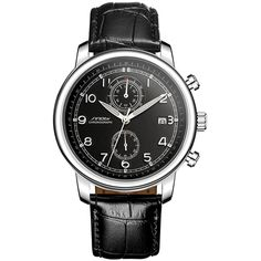 Like and Share if you want this  SINOBI Fashion Sports Men's Multifunction Wrist Watches Black Leather Watchband Top Luxury Brand Male Geneva Quartz Clock 2017     Tag a friend who would love this!     FREE Shipping Worldwide     Buy one here---> https://shoppingafter.com/products/sinobi-fashion-sports-mens-multifunction-wrist-watches-black-leather-watchband-top-luxury-brand-male-geneva-quartz-clock-2017/