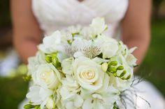 White Monochromatic Bouquet  http://brds.vu/ztGpnn  #Flowers