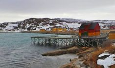 A bath in the Arctic Ocean . . . #bugøynes #norway #finland #arctic #arcticocean #arcticcircle #village #fishingvillage #colors #snow #snowy #coldwater #dock #woodhouse #boat #northernlights #myplace #traveldestination #beautifulplace #picoftheday #photooftheday #photography #roadtrip #worldcapture #🇳🇴 #barentssea #visitnorway #bath #snowland #followme