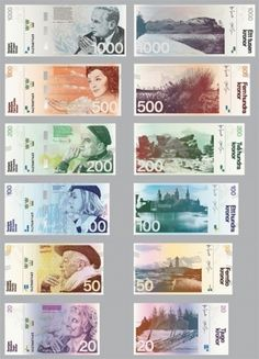 Redesigning the Swedish Banknote » ISO50 Blog – The Blog of Scott Hansen (Tycho / ISO50) — Designspiration