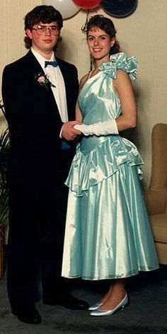 Image result for 1980's prom dresses