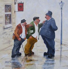 'Likely Lads' | Prints | Des Brophy