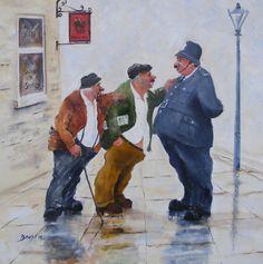 'Likely Lads' | Prints | Des Brophy