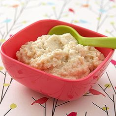 Simple Homemade Baby Food: Baby's Chicken and Apples (via Parents.com)