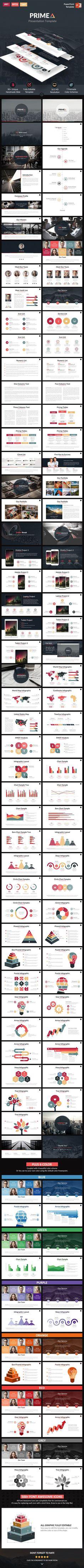 Primea - PowerPoint Presentation Template #design Download: http://graphicriver.net/item/primea-powerpoint-presentation-template/11828976?ref=ksioks: