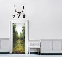 Hol dir die Natur in deine vier Wände! #türfolie #creatisto