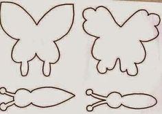 Veja este artesanato, inspiração pra você decorar um cantinho especial comborboletas de papel. Idéias e molde da borboleta, use a cri...