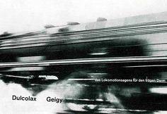 Another Geigy Basel advertisement for a pharmaceutical preparation, designed by Max Schmid 1958.