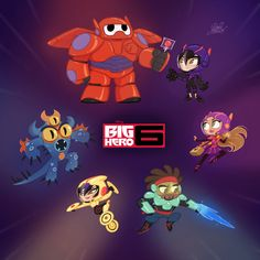 big hero 6 comic - Buscar con Google