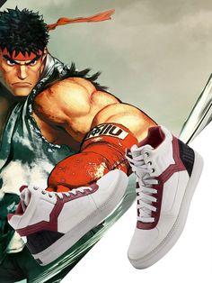 Así son las zapatillas Diesel basadas en Street Fighter - Meri Station