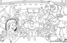 Sing Colouring Page Coloring Pages Printable And Book To Print For Free Find More Online Kids Adults Of