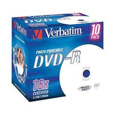 DVD Verbatim 4,7gb Dvd-R 16x 1pz - http://www.cancelleria-ufficio.eu/p/dvd-verbatim-3/