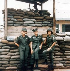 Army Nurse Corps fatigues during the Vietnam War