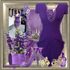 """""""~~ PURPLEMANIA ~~"""" by queenofthegypsies ❤ liked on Polyvore"""