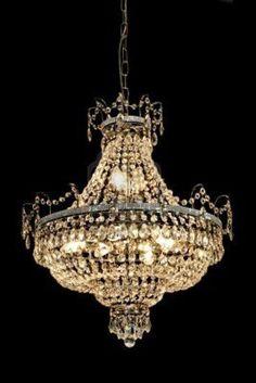 design | light me up - crystal chandelier
