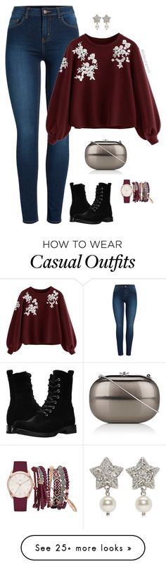 """Casual"" by stylebyshannonk on Polyvore featuring Pieces, Frye, Jeffrey Levinson, Miu Miu and True Craft"