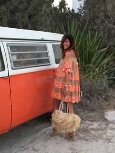 hippie mood - mytenida Boho Festival, Festival Fashion, Ibiza Dress, Boho Beautiful, Look Boho, Boho Fashion, Womens Fashion, Boho Outfits, Hippie Style
