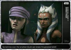 Topps Star Wars Card Trader The Clone Wars Morals Sabotage Base Digital Card
