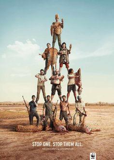 """Stop one. Stop them all."" A fantastic #ad by Leo Burnett, Sydney, Australia"