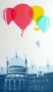 Sky Castles - Freya Cummings. I love this art