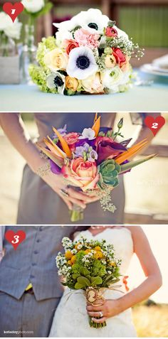 http://www.labellebride.com/2011/07/15/10-wedding-bouquets-youll-die-for/