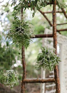 Hanging shades by elk Irish Wedding & Event Stylist www. Irish Wedding, Home Wedding, Wedding Events, Wedding Reception, Elk, Ladder Decor, Wedding Styles, Dandelion, Stylists
