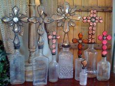 collector of cross bottles