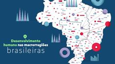 Diferença de IDHM entre regiões brasileiras diminuiu nas últimas décadas