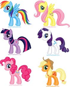 I decided to make a dollmaker of the ponies, making the 6 mane castponies first, doing other stuff later. Pixel: My Little Pony FIM Bolo My Little Pony, Festa Do My Little Pony, My Little Pony Twilight, My Little Pony Birthday, My Little Pony Friendship, Invitaciones My Little Pony, Unicorn Cake Design, My Little Pony Stickers, Mlp Cutie Marks