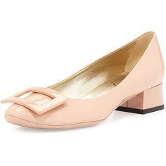 0a8afa41e866d Roger Vivier Belle de Nuit Patent Pump ( 650) ❤ liked on Polyvore featuring  shoes