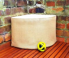 GIANT CORNER BASKET Pet Jute Hessian Burlap Storage Organizer Dog Toys Basket Natural Cotton Canvas Cat Container Extra Sturdy Handmade Gift