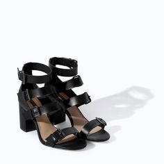5180c18004e Image 2 of HIGH HEEL SANDAL WITH WIDE STRAPS from Zara Zara Women
