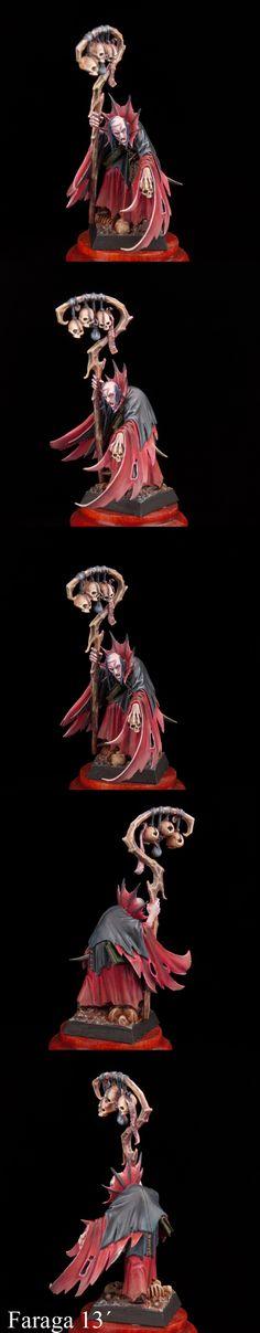 CoolMiniOrNot - Vampire Counts Necromancer by SCHIRAGA