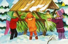 Használja a nyilakat, kapcsoló a lejátszott kép Cute Kids, Winter, Crafts For Kids, Xmas, Education, Marvel, Painting, Fictional Characters, Animales