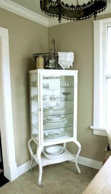 @Jenny Hammond   old doctor's cabinet on Adventure's of Elizabeth blog...awesome, no?...YES!!
