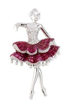 Van Cleef & Arpels - Maids, Van Cleef & Arpels 2007 Precious Ballet collection, Meninas