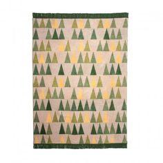 pad Kuscheldecke Baum-Matrix grün | design3000.de