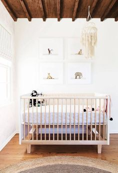 Gender Neutral Nursery Ideas — Crib