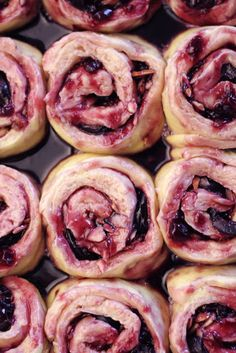 Cherry Morning Rolls...