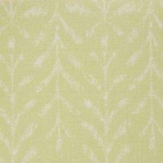 Kaftor Leaf Celery. Available printed on linen, cotton, cotton linen blends. © Ellen Eden