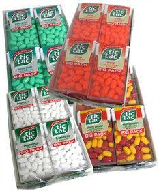 Tic Tac Mints - Choose Flavor - http://www.blaircandy.com/tictacmints.html