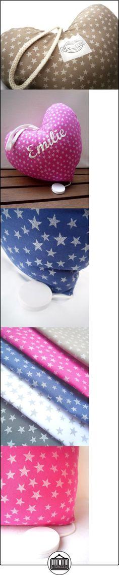 Dea-concept - Boîte à musique en forme de coeur - coton fuchsia étoiles nacrées -Musique au choix  ✿ Regalos para recién nacidos - Bebes ✿ ▬► Ver oferta: http://comprar.io/goto/B00CS3MUKA