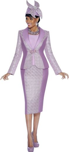 3612 3 PIECE SKIRT SUIT INCLUDING CAMISOLE SUSANNA FOR TERRAMINA 100% POLYESTER #SkirtSuit