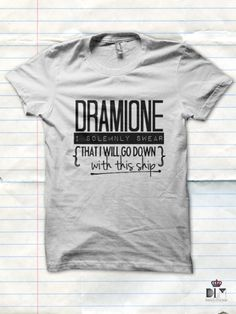 Item name: SHIP - DRAMIONE *Also available in any other ship! Drarry, Harmony, etc. Even if it's not HP related, we can make it for you. Just specify when ordering