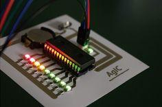 作品名:AgIC print – Silver-based Inkjet Circuit Printing and Instant Prototyping 作者名:AgIC Inc. Digital Fabrication fab