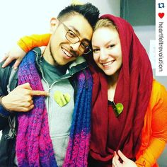 Part 2: That time we met  @heartfeltrevolution #Repost #nyc #5rhythms #dance #meditation  Here's what the encounter with @_hearthumanity looked like from our side. (Really fucking cute)