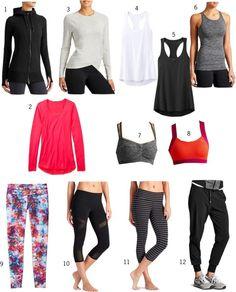 Athleta Workout Wardrobe Capsule 3