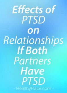 ptsd and running from relationships